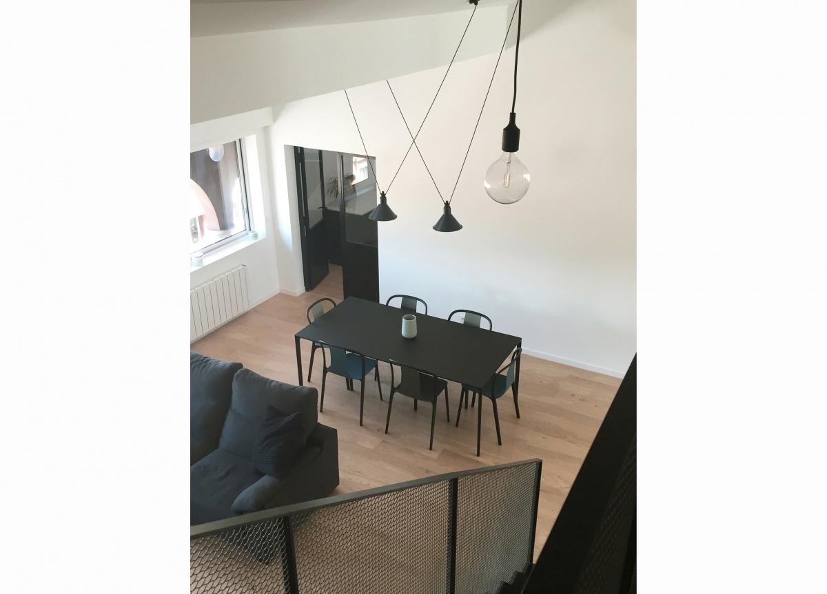 Rénovation d'un appartement et création d'une mezzanine
