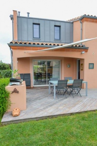 Surélévation et extension d'une maison à Toulouse