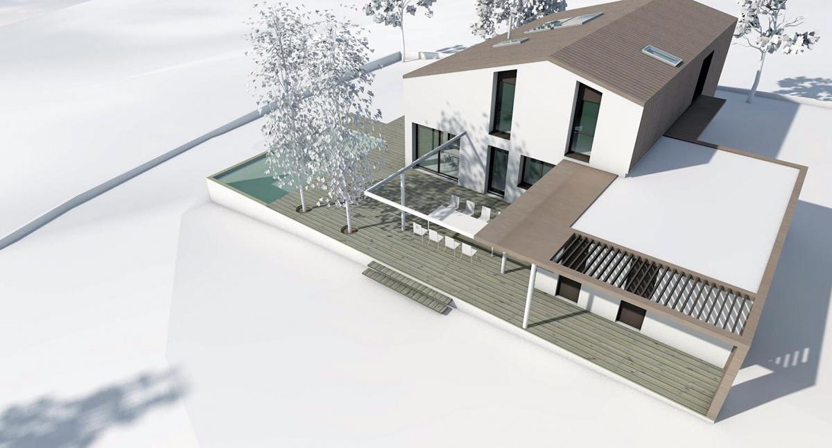 Réalisation d'une maison individuelle à Goyrans