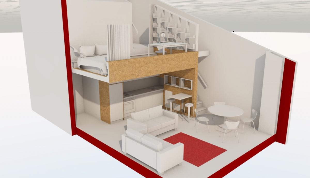 Aménagement intérieur d'un appartement à Toulouse
