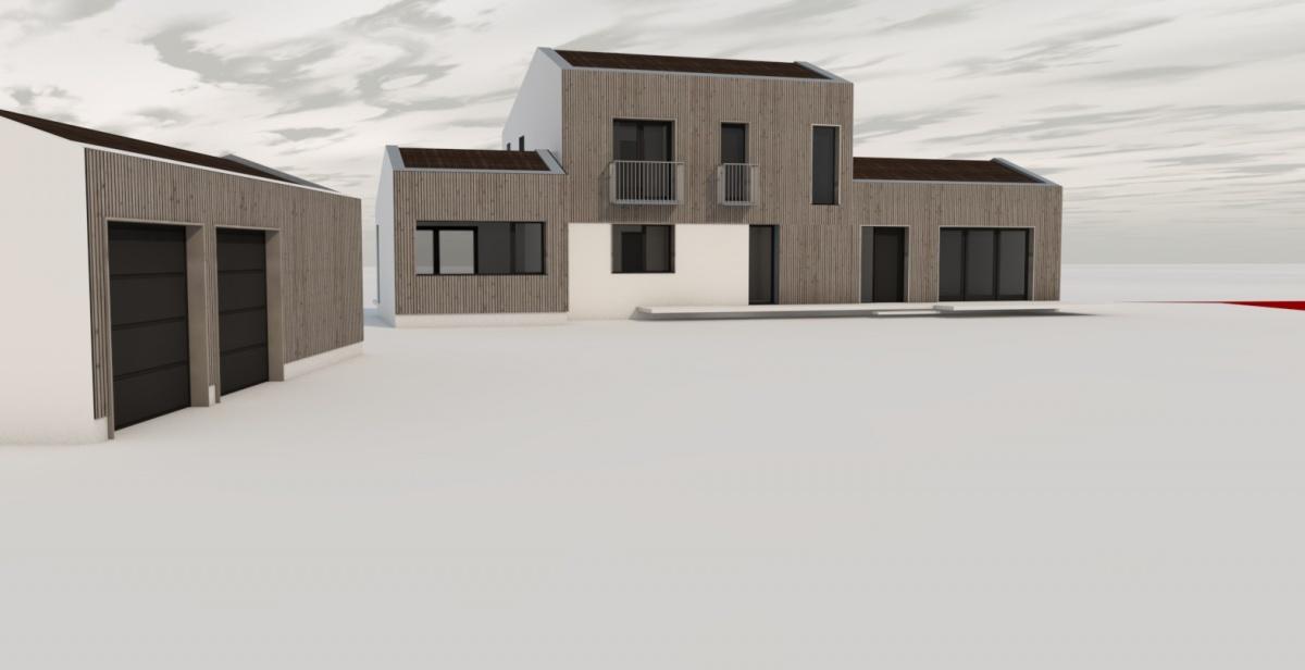 Réalisation d'une maison individuelle à Aureville