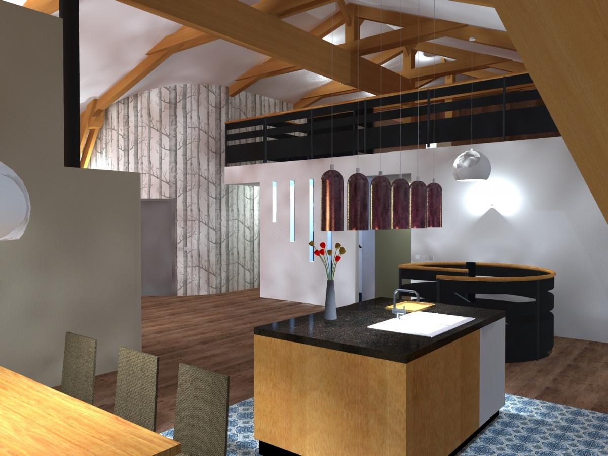 Maison Venabulum : Cuisine Esc 4