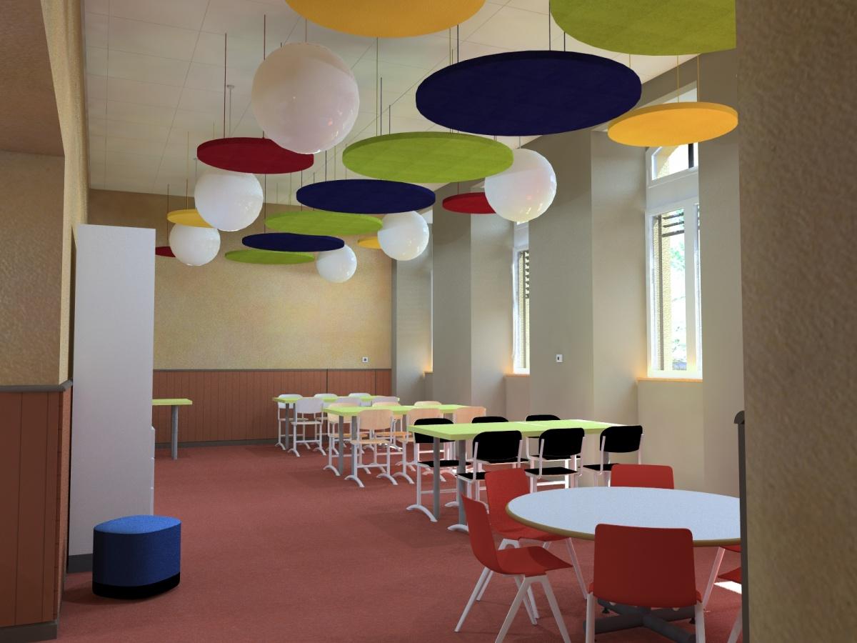 Centre de loisirs / mairie : Vue int ALAE V2b