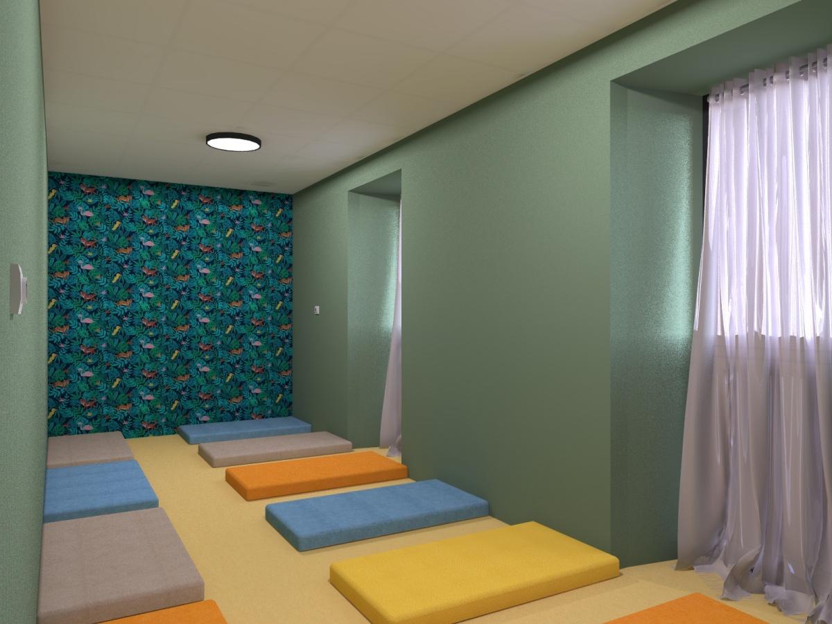 Centre de loisirs / mairie : Vue int dortoir