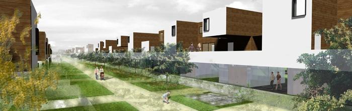 Création de 38 logements coopératifs : pers rue