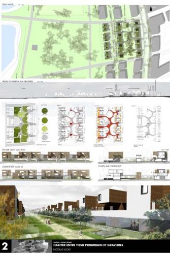 Création de 38 logements coopératifs : planche espace public