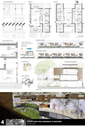 Création de 38 logements coopératifs : planche logement