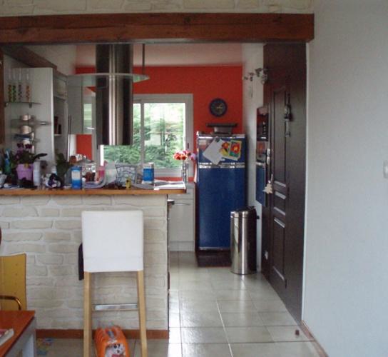 Rénovation salon, salle à manger et salle de bain : Salon avant .JPG