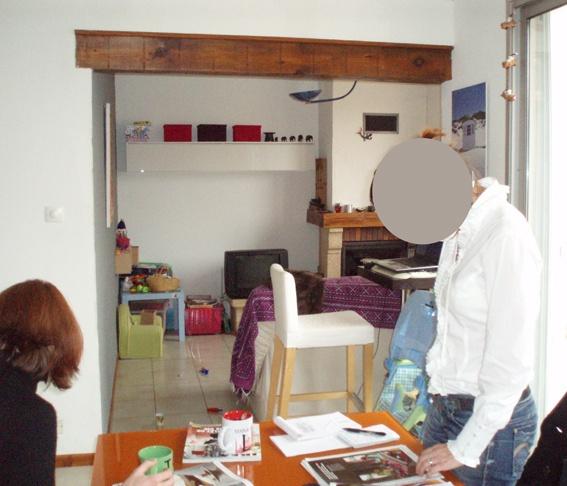Rénovation salon, salle à manger et salle de bain : Salon avant bis.JPG