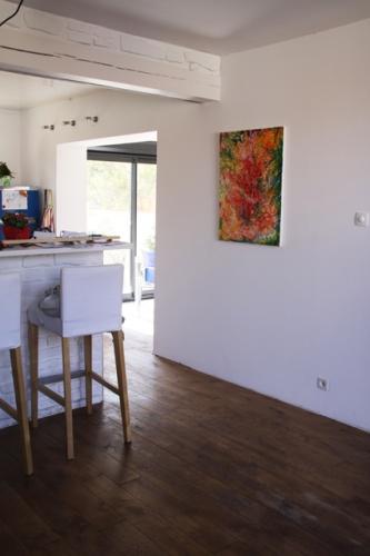 Rénovation salon, salle à manger et salle de bain