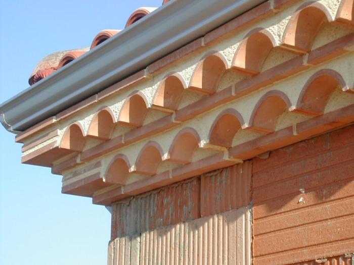 Maison à  Montrabé : Détail corniche