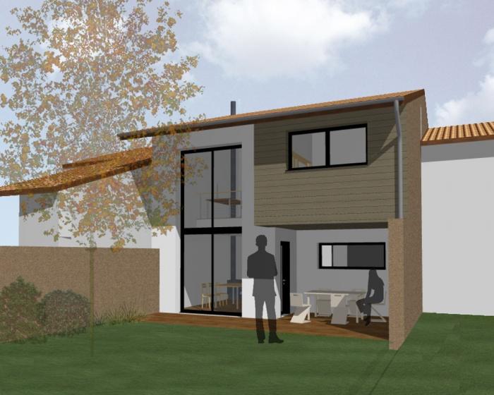 architectes construction d 39 une maison individuelle saint lys. Black Bedroom Furniture Sets. Home Design Ideas