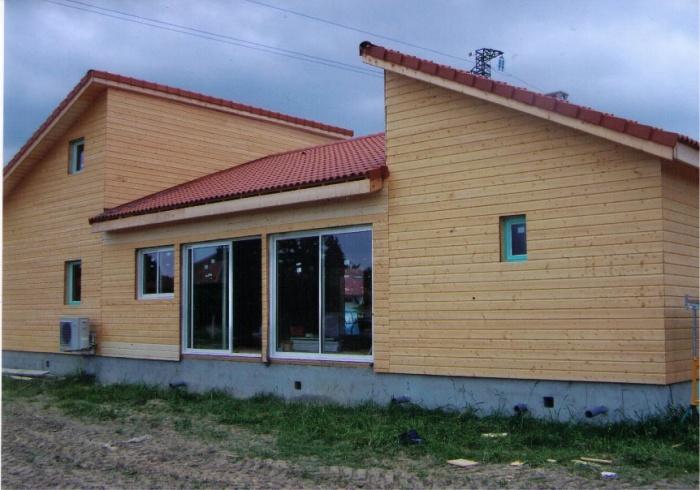 Maison ossature bois vic en bigorre une r alisation de for Aea architecte