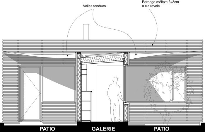 Extension d'une maison à Toulouse : COUPE-FACADE-OUEST-1-50.jpg