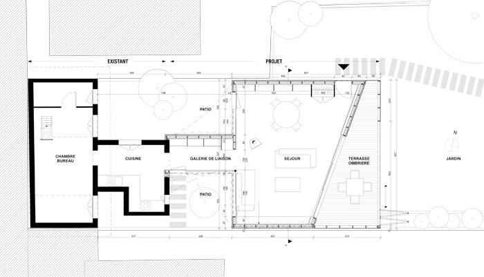 Extension d'une maison à Toulouse : PLAN-RDC-1-50.jpg