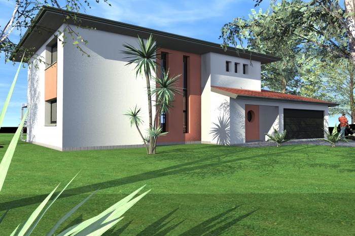 architectes maison individuelle toulouse. Black Bedroom Furniture Sets. Home Design Ideas