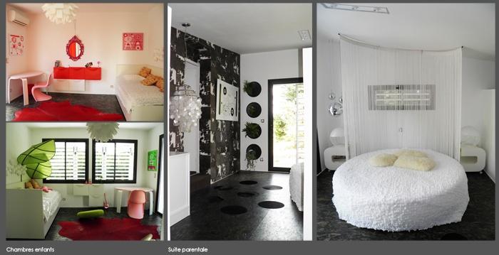 Métamorphose d'une maison des années 70 : chambres