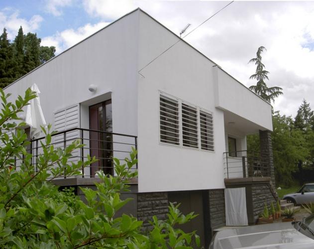 Métamorphose d'une maison des années 70