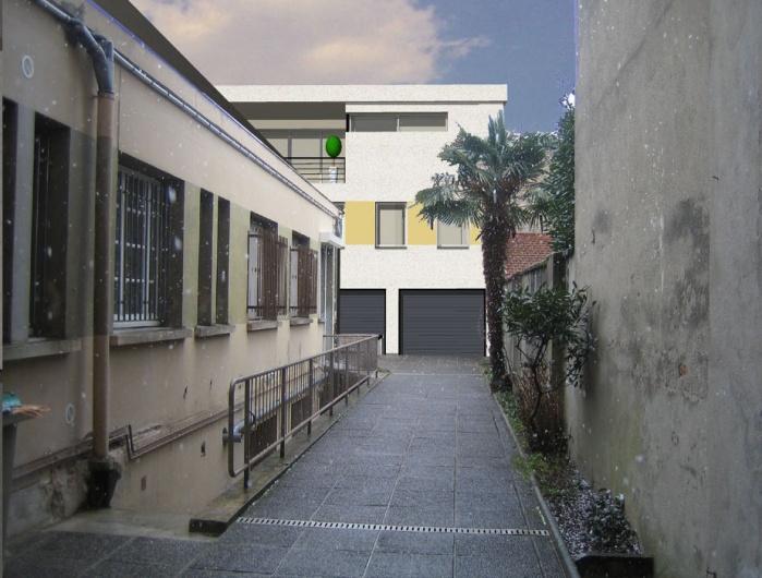 NEUF-Mondran PHASE 2- surélévation de l'appartement (réalisée) : Photomontage_1