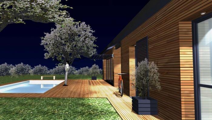 Projet de construction d'une maison à ossature bois