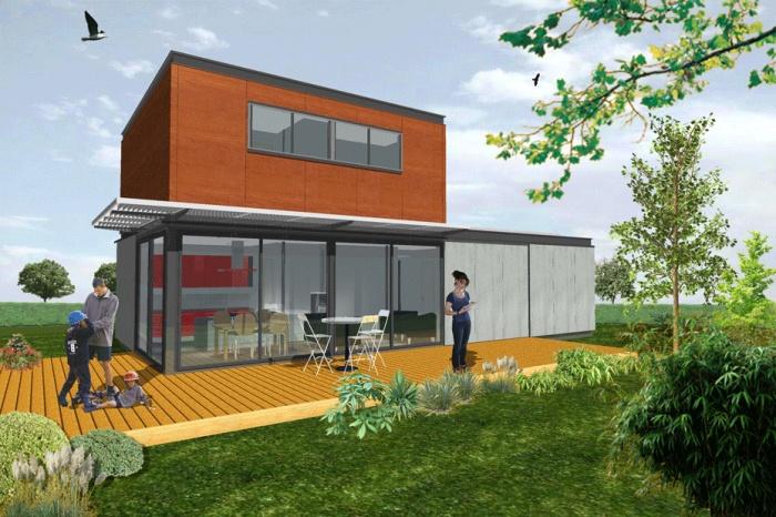 maison ma à aureville rénovation partielle d une maison individuelle