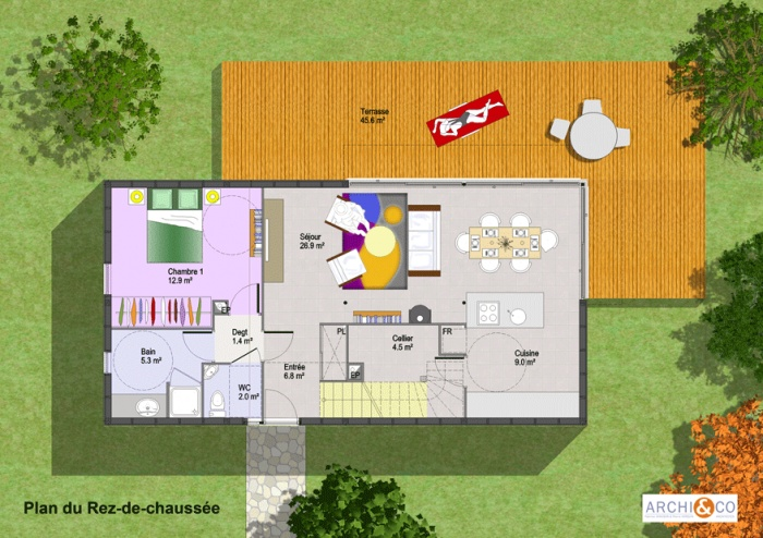 Plan De Maison En Bois Gratuit Faire Construire Sa Maison 10