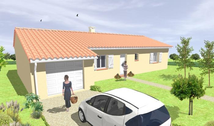 architectes maison individuelle de plain. Black Bedroom Furniture Sets. Home Design Ideas