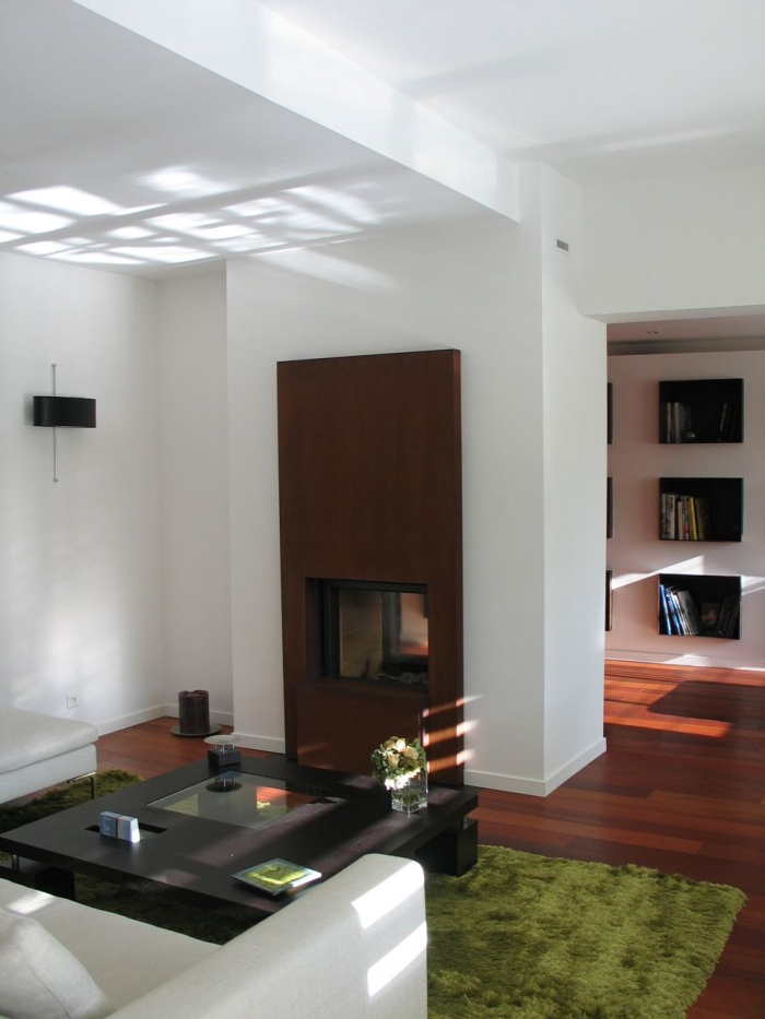 Villa Bel-Air : Cheminée