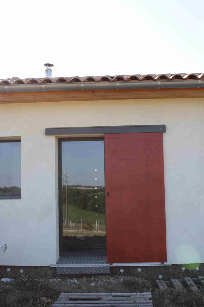 Maison bioclimatique G (31) : peinture volets