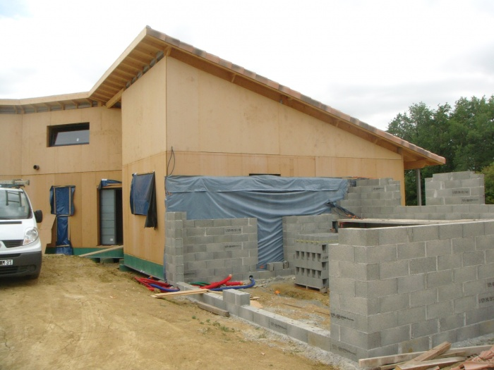 Villa H : construction du garage.JPG