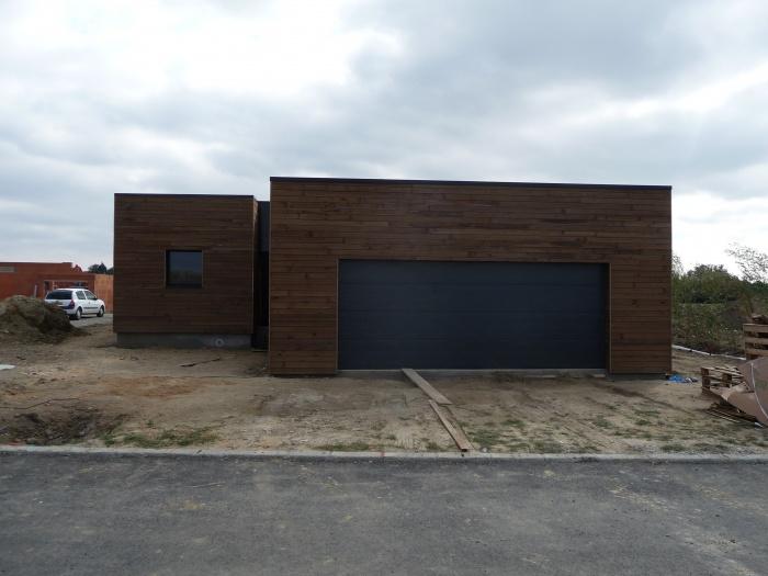 Maison individuelle,ossature bois