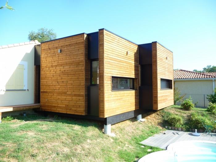 architectes agrandissement d 39 une maison individuelle saint paul sur save. Black Bedroom Furniture Sets. Home Design Ideas