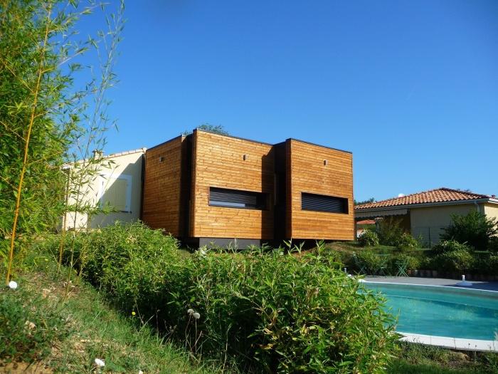 Architecte fabienne hillere beauzelle r alisations et for Agrandissement maison individuelle