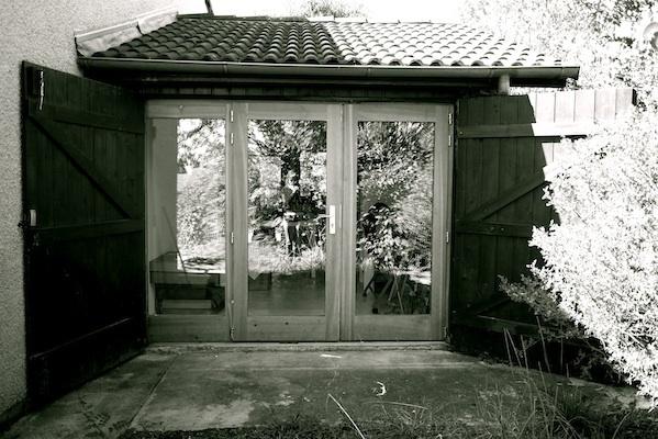 Transformation d'un garage en bureau et atelier d'artiste