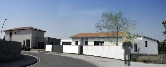 Architectes maison individuelle entre deux for Architecte toulouse maison individuelle