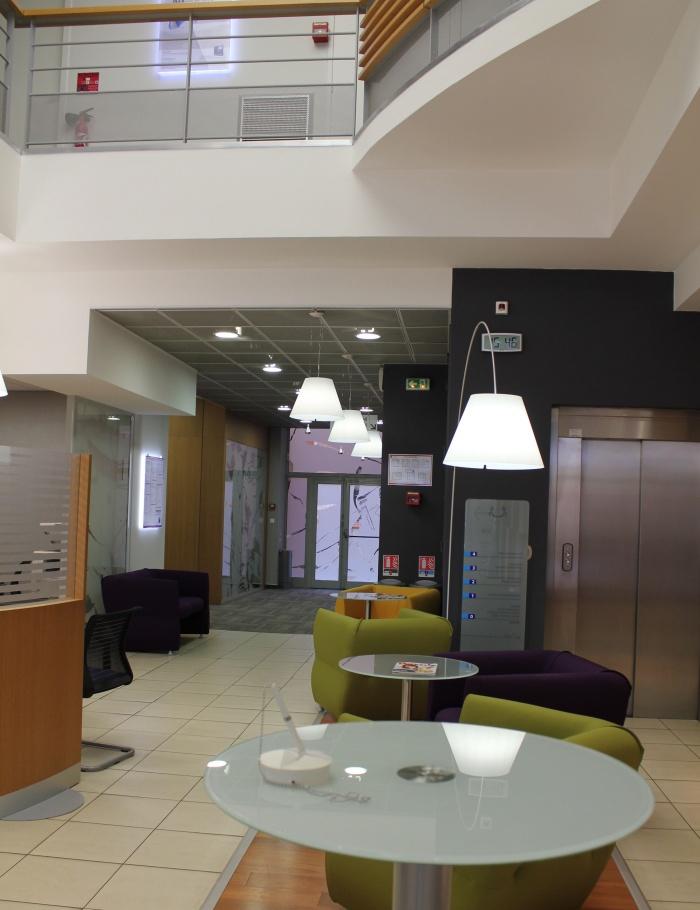 AMENAGEMENT BANQUE POPULAIRE AGENCE ALSACE LORRAINE : Vue aménagement Hall