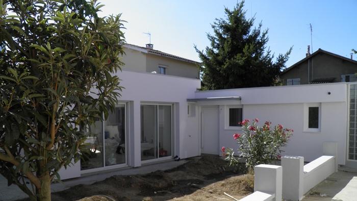 extension et restructuration d 39 une maison des ann es 50 toulouse une r alisation de. Black Bedroom Furniture Sets. Home Design Ideas