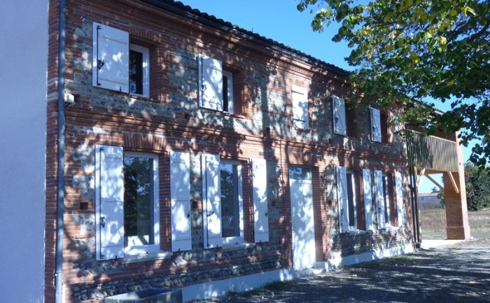 RESTAURATION D'UNE VIEILLE MAISON TOULOUSAINE : fenouillet-av-d.JPG