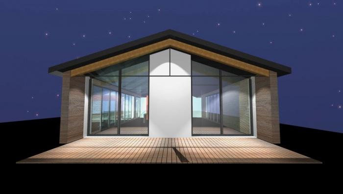 Architectes maison m tal bois rieumes - Maison bois metal ...