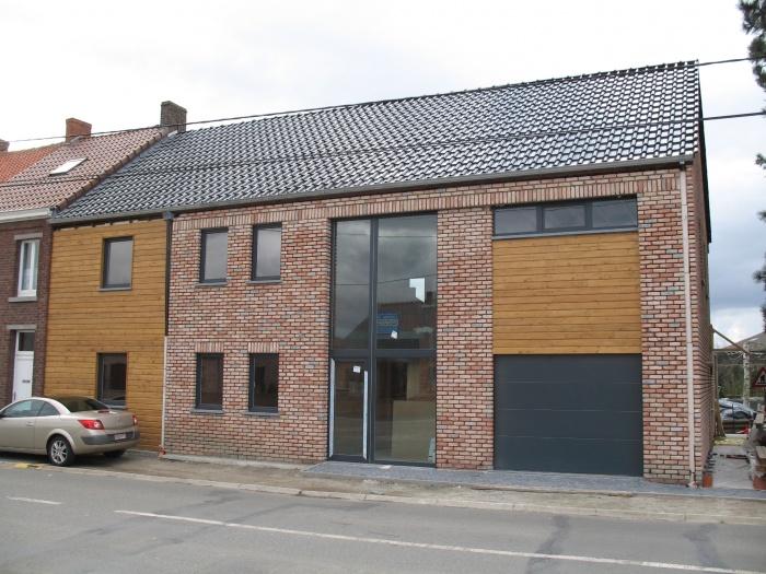Construction d'une maison individuelle de type T3 + un appartement de type T4 : image_projet_mini_42198