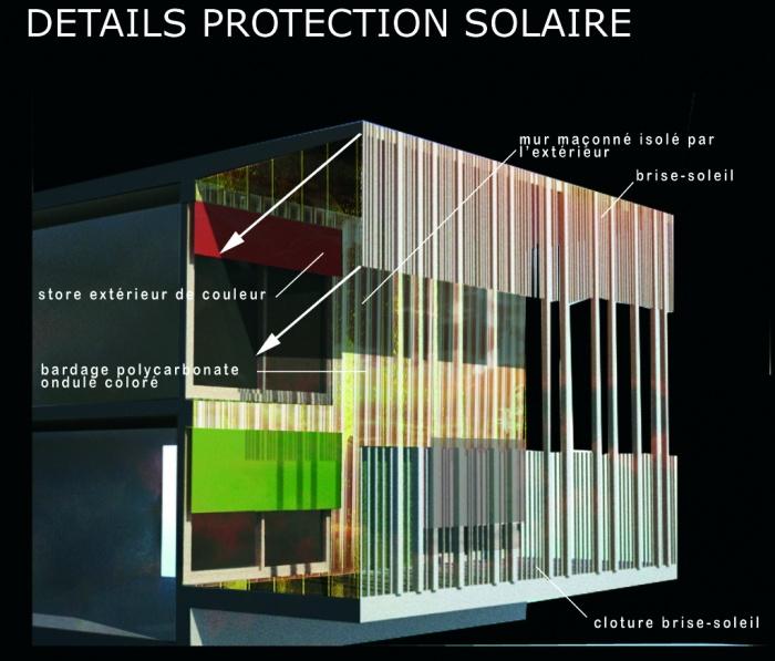 Architectes coll ge labarthe sur leze 31 labarthe sur l ze - Protection solaire maison ...