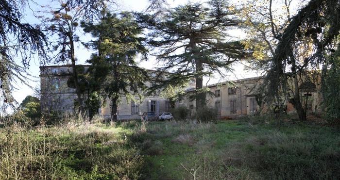 Réhabilitation du Chateau de Drudas : pano 2 recadré