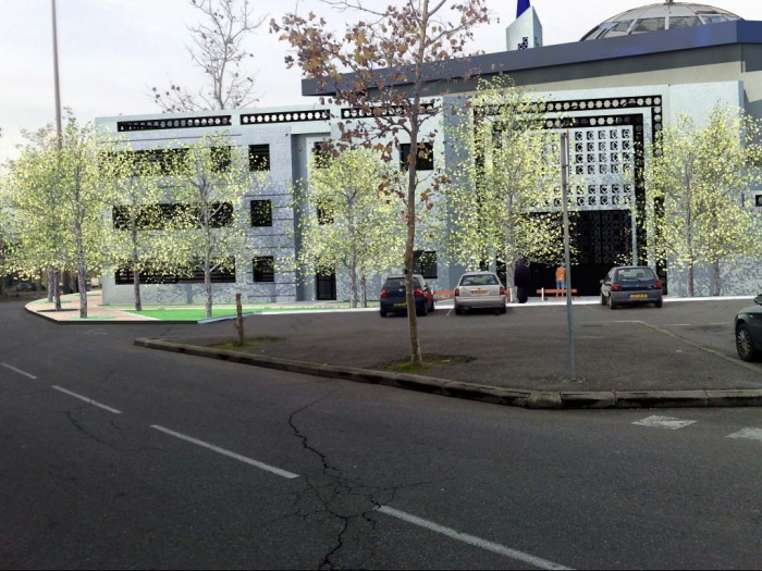 Mosquée à Toulouse