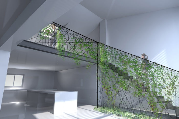 r habilitation toulousaine launaguet une r alisation de agence pi belli. Black Bedroom Furniture Sets. Home Design Ideas