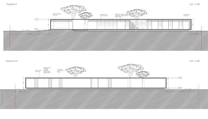 Maison M1 à Menville (31) : PCMI 5-1 - Facades