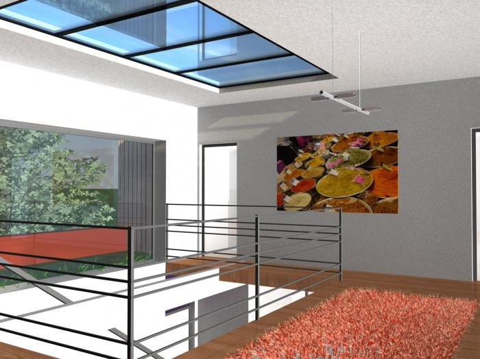 maison individuelle a vieille toulouse une r alisation. Black Bedroom Furniture Sets. Home Design Ideas