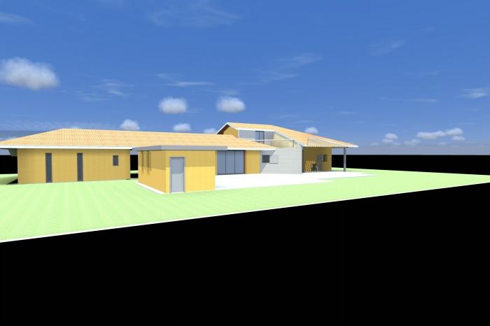 Maison bbc muret une r alisation de a a architecture for Aea architecte