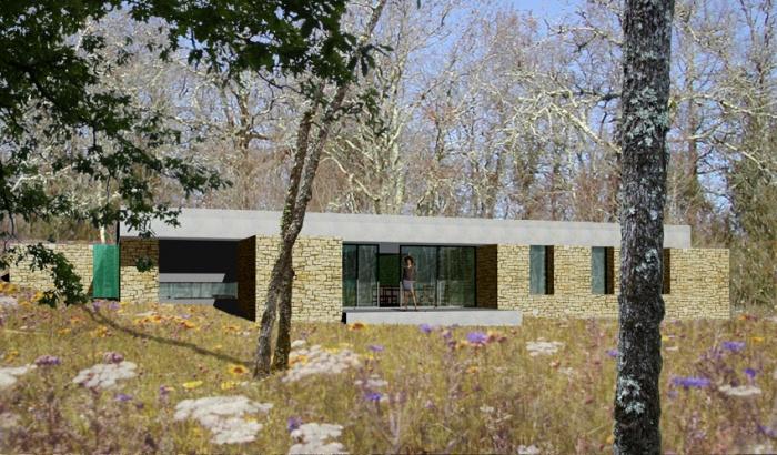 architectes maison individuelle salviac. Black Bedroom Furniture Sets. Home Design Ideas