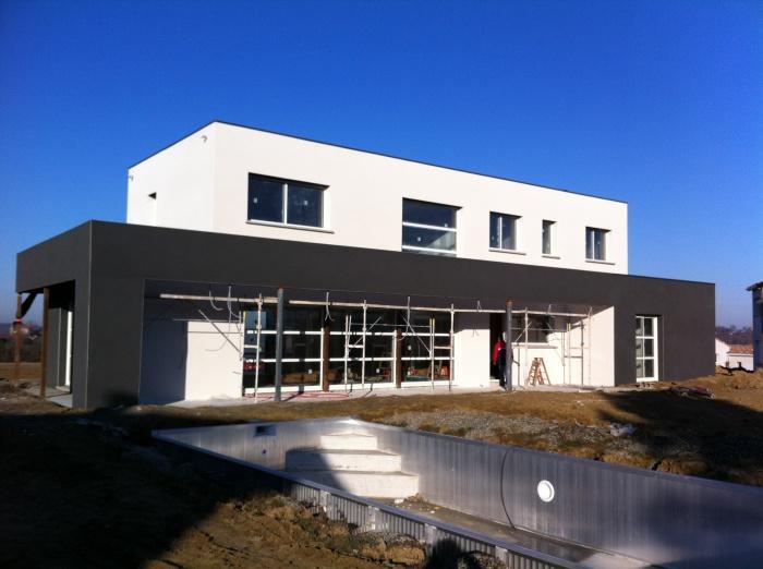 NEUF-Maison TOM II à Mons (réalisée)