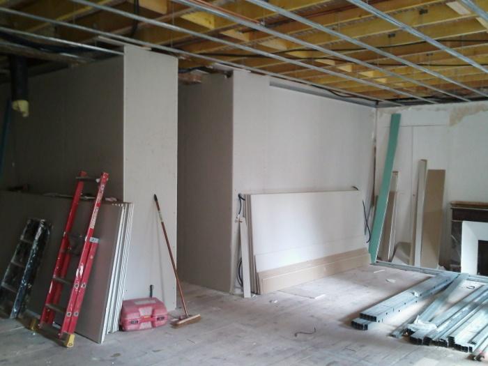 réhabilitation appartement 19 ème en  hypercentre : chantier en cours